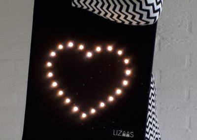 Kisses of Light (kleiner model)